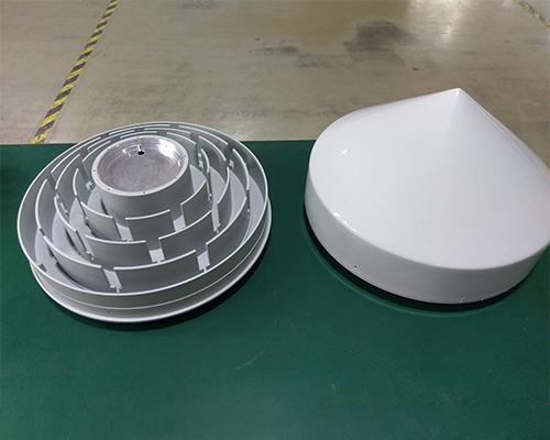 3D扼流圈+天线罩